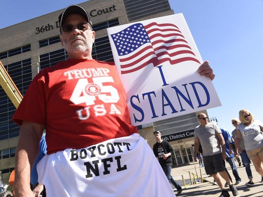 Gordon Rickett, 60, of South Lyon stands outside Detroit's