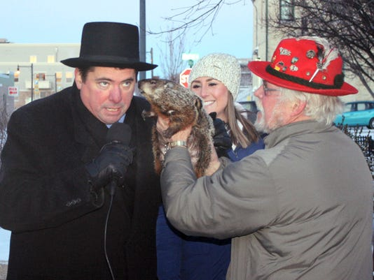 Groundhog Bites Mayor