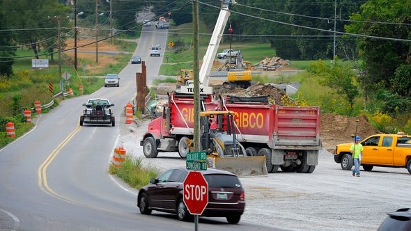 Transportation projects make up about half of Middle Tennessee's infrastructure needs.