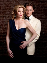 Broadway stars Marin Mazzie and Jason Danieley