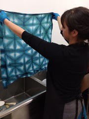 There are three commonly used Shibori techniques.