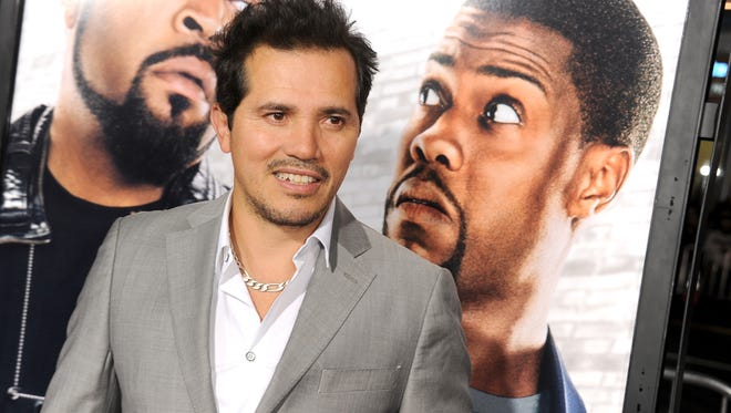 John Leguizamo attends the premiere of 'Ride Along' in January 2014 in Hollywood.
