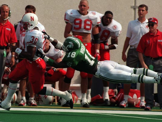Ahman Green, Nebraska football