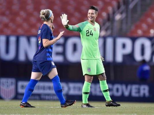 Soccer: International Friendly Women's Soccer-China PR at USA