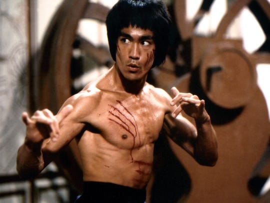 "Bruce Lee stars in the 1973 martial arts classic ""Enter the Dragon."""