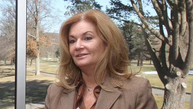 Putnam County Executive MaryEllen Odell talked about the changes at the golf course Jan. 7, 2014.