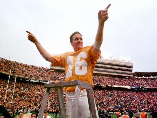 cheap for discount 566d2 c96a0 UT Vols: Peyton Manning, Reggie White giants on all-time ...