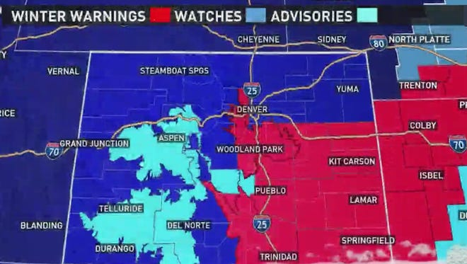 Fort Collins is in for a snowy, cold weather.