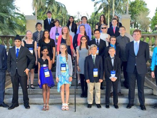 Thirty students from Lee and Charlotte counties earned the chance to compete in the state science fair this week.