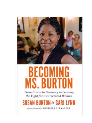 """The cover of the book """"Becoming Ms. Burton"""""""