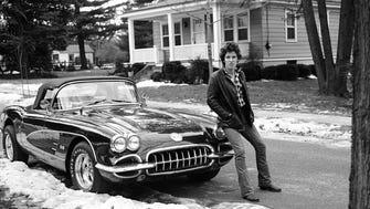 Frank Stefanko's 'Corvette Winter.' It's the images used on the cover of Bruce Springsteen's memoir 'Born to Run.'