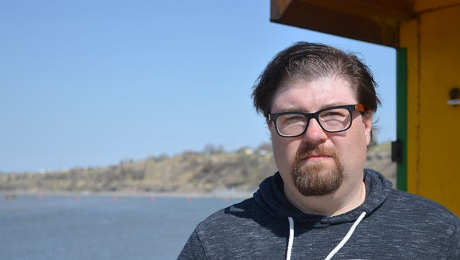 Tommy Roberts spent Thursday walking the Missouri River hoping to find a sign of his daughter, Brittney, who is presumed to have drowned on April 23.