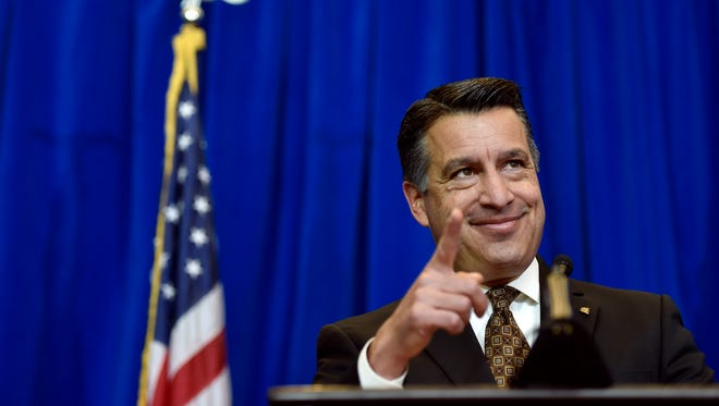 Nevada Gov. Brian Sandoval will support the Republican Party's nominee in the 2016 presidential election.