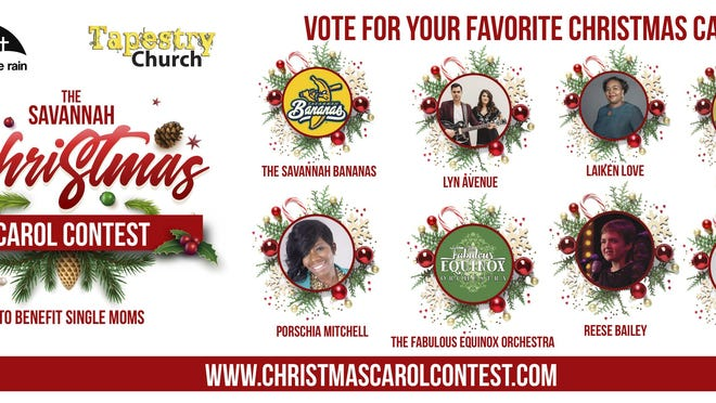 Vote for your favorite Christmas carol here: shelterfromtherain.com/christmas-campaign.html.