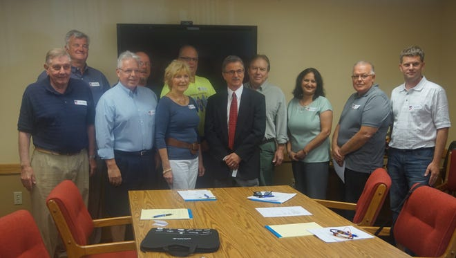 Candidates for the Ocean Pines Board of Directors are pictured.
