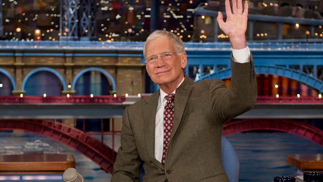 """David Letterman's final night hosting """"The Late Show"""" will be May 20."""