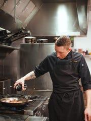 New Ginger and Baker chef de cuisine Tucker Creveling.