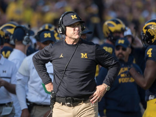 Michigan coach Jim Harbaugh makes it clear every spring and pretty much thr…