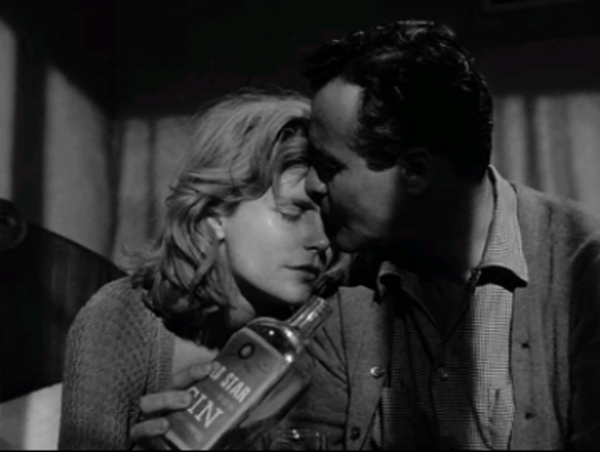 "Lee Remick and Jack Lemmon are awash in booze in ""Days"