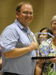 This year's Helen Kirk award went to Tularosa Basin Telephone Company general manager Josh Beug, who was named Volunteer of the Year.
