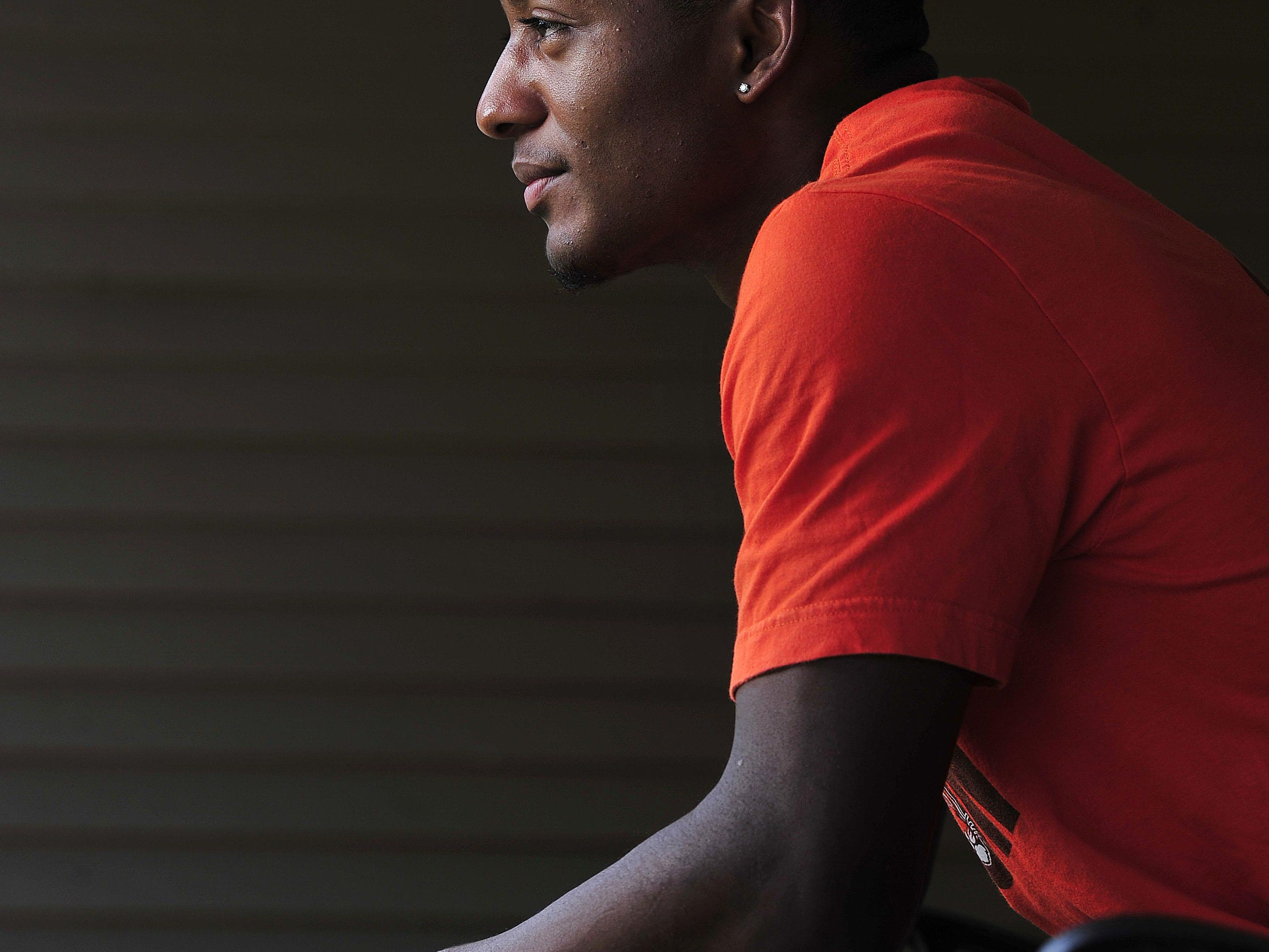 Ensworth's P.J. Settles, The Tennessean's Male High School Athlete of the Year, at his home in Nashville on June 24. In 12 seasons of high school competition, Settles helped lead the Tigers to six state championships.