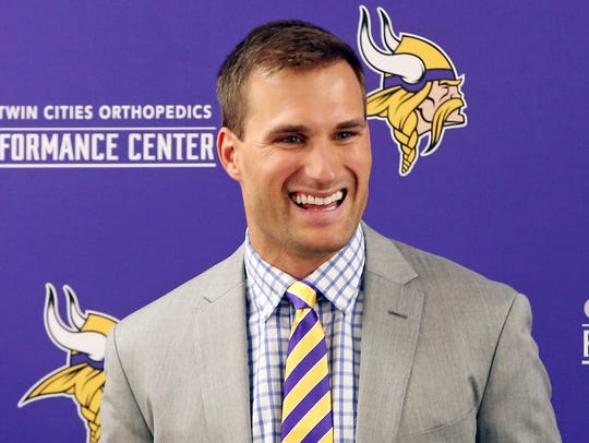 With QB Kirk Cousins now in the fold, the Vikings are