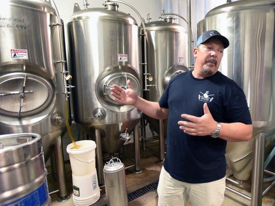 Big Oyster Brewery owner Jeff Hamer is frustrated working around Rehoboth's rules for businesses that sell alcohol. Officials are exploring new regulations.