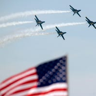 Blue Angels Air Show 2018 on Pensacola Beach on Saturday