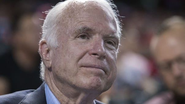 In his forthcoming memoir, Sen. John McCain, R-Ariz.,