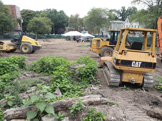 A groundbreaking ceremony was held Thursday for the