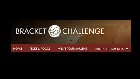 Play the Bracket Challenge for NCAA basketball with