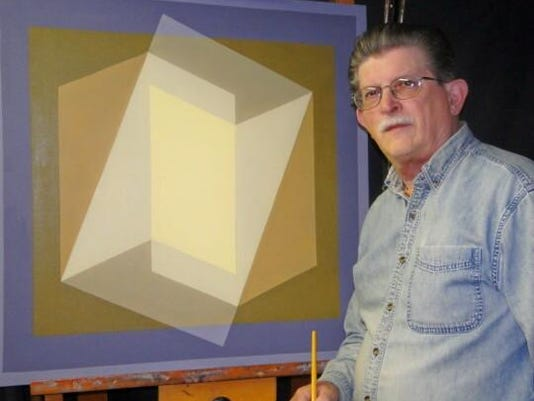 Artist David John Rush Included in book New Jersey Artists Through Time 2015