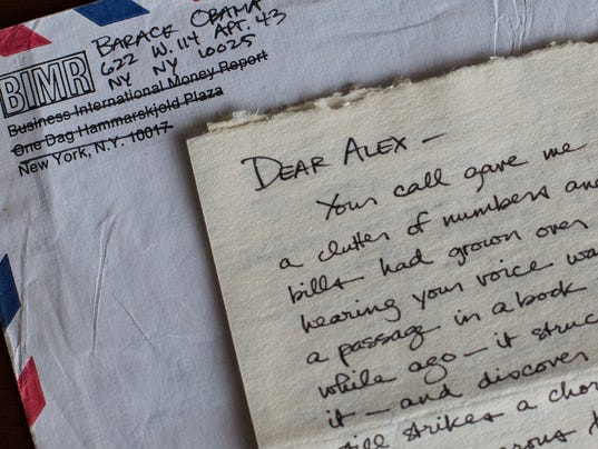 Barack Obama s love letters to his college girlfriend Alexandra McNear