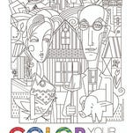 Download an Iowa (adult) coloring page
