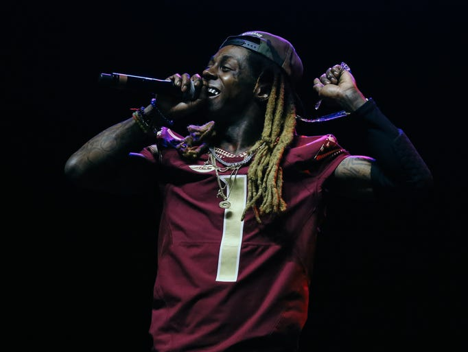 Lil Wayne performs at Weekend Kickoff Live at the Tucker
