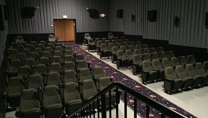 The former Theater 14 at Movies at the Midway last