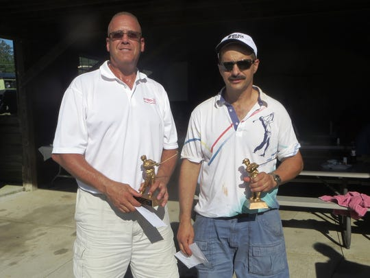 The team of Steve Crawford and Scott Conkle finished second at the annual West Licking Historical Society golf outing.
