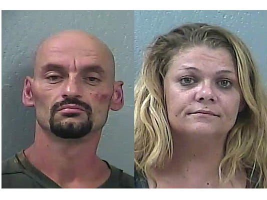 Couple charged with drug trafficking after alleged bust