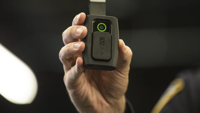 Des Moines patrol officers will be wearing body cameras beginning in December.