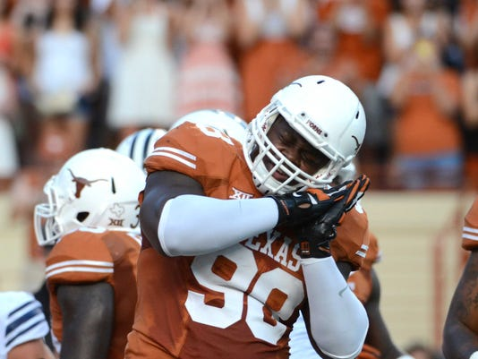 NCAA Football: Brigham Young at Texas