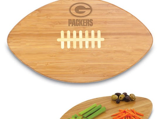 Green Bay Packers cutting board, $33.99.