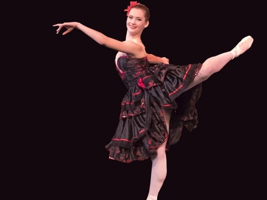 """Dancers from the Appalachian Ballet Company will perform with the Knoxville Symphony Orchestra in """"Red, Hot & Bolero."""""""
