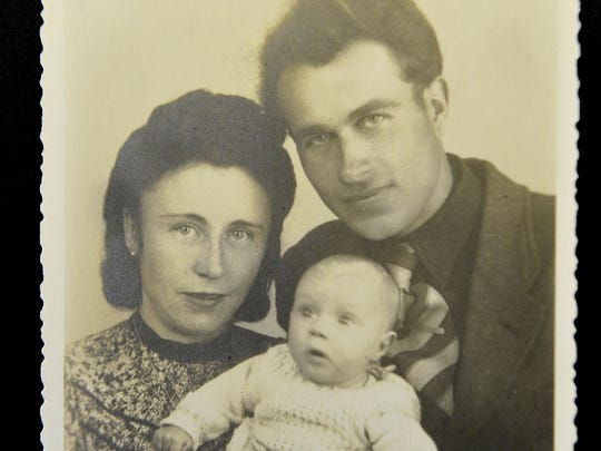 A photo of German prisoner Erich Thimmann, who was held in Tennessee during World War II