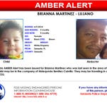 Amber Alert Issues for Brianna Martinez
