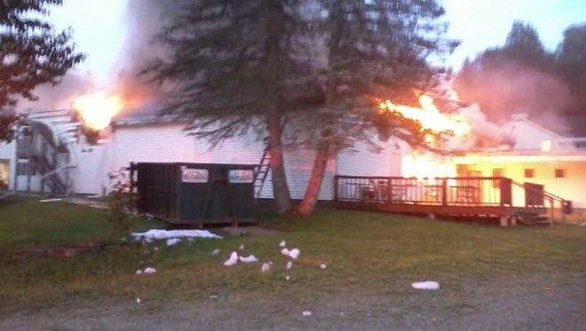 Fire destroys the Stone's Lodge and Fat Spy Tavern in Winhall.
