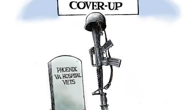Steve Benson looks back at the allegations of cover up regarding the care of the Valley's veterans.