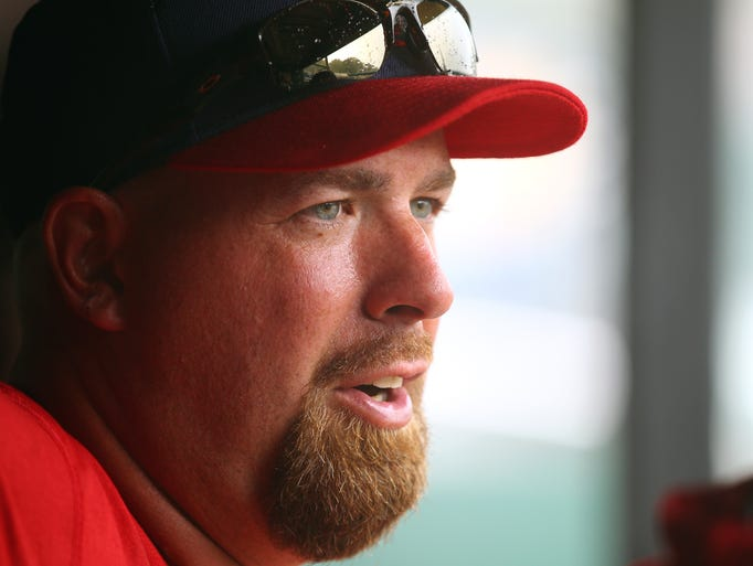 Tim Redding is in his first year as the pitching coach