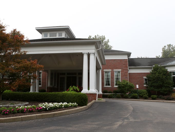 The clubhouse at Monroe Golf Club.