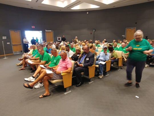 Moments before a land-use request before Cape Coral