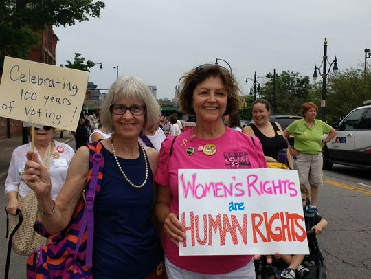 From left: Barbara Murphy and Maureen Maas-Feary.